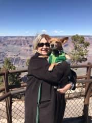 Kahlo (Prescott, AZ) enjoyed the Grand Canyon too!