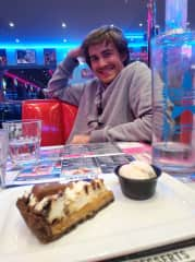 Gregoire and a nice peacan pie !