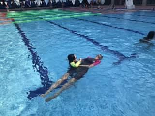 I'm am  a swim teacher also
