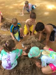 A crazy day at summer camp where I worked as camp counselor!
