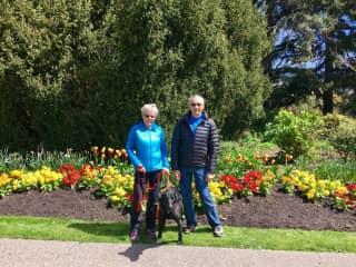 Jane, James and Cleo, Victoria  May 2017