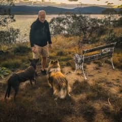 Masterful control (or is that a treat in my pocket?). Jindabyne, NSW, Australia