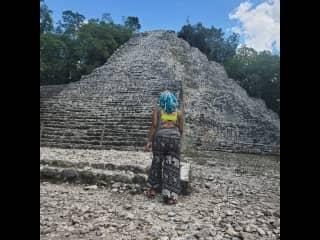 Mayan Ruins of Coba in Tulum, Mexico