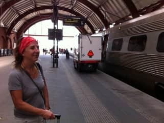 Verena my travel companion