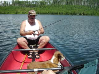 A Favorite - Canoeing & Fishing