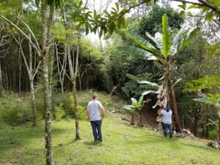 David and our Gardener Chambo