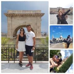 Sonia y Ruben practicando deportes, viajando...
