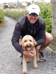 Scotty and Piper who we get to walk each day here in St Andrews, so the six myths we're here