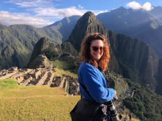 A glorious day at Machu Picchu in 2019 - one of the highlights of my time in South America