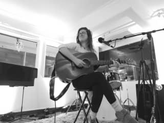 Sharing a little music at The Loft in Richmond, Virginia.