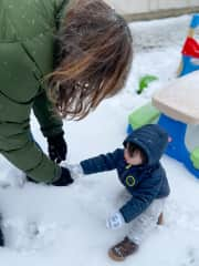 Recent winter weather in central Texas meant that I got to spend some quality time with my grandson. 2021