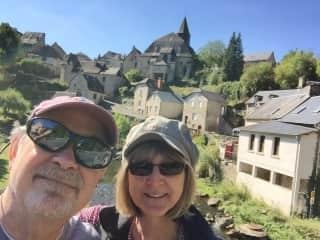 Bill and Cheri in France