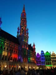 Brussels City Center close by