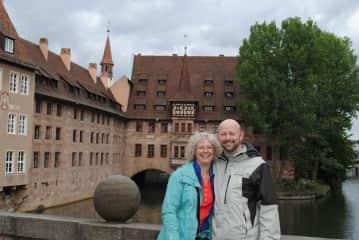 Elaine and Brian Sipe in Nuremberg, Germany