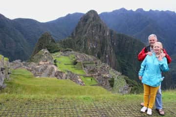 Peru was one of those trips of a lifetime.  Two weeks exploring the ruins and pueblos at elevations well over 10,000 feet and 10 days in the Amazon Jungle.
