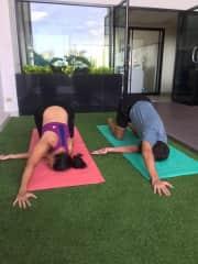 yoga at Chiang Mai