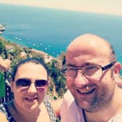 Us in Italy (our passion is travelling)