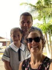 Craig, Angela and Madeleine - Jamison Family