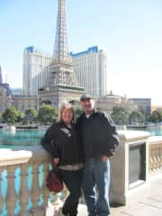 Jim and Sue in Vegas