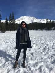 Me hiking Mt. Shasta December 2018