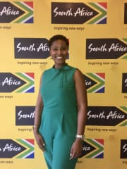 One of my favorite places in the world is South Africa.  Here I am at the South Africa Embassy in DC.