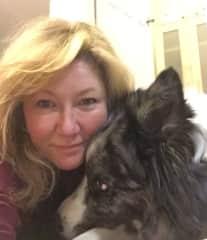 Me and my dog Fergus