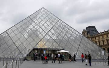 A day at the Louvre, Paris