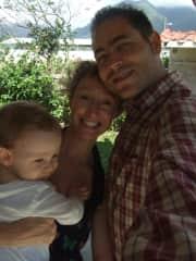 When we were three, in Valle del Anton, Panama