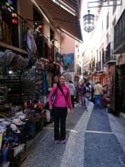 Me in Grenada, Spain