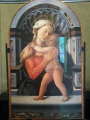 Madonna and Child Florence Medici Palace.