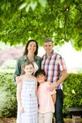 Chris, Rebecca & our 2 kids