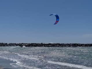 Kitesurfing Mikael