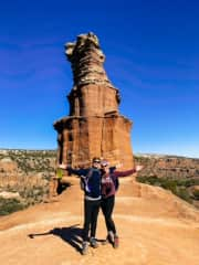 """Hiking to the """"Lighthouse"""" in Palo Duro Canyon State Park"""