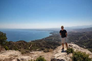 Roger - exploring the North of Cyprus