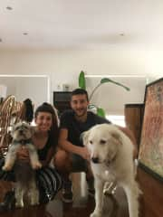 Our first sitting in Australia with Zach and Lola