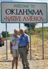 Jack and Neilia like to take pictures in front of state signs wherever we travel in the US.
