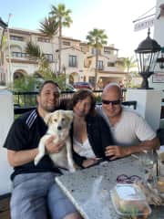 My Son Jason, Andres and Cookie