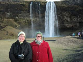 Iceland with my sister