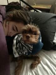 Naps with my snuggle bug