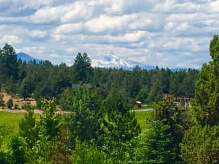 View of Mt. Jefferson from the house