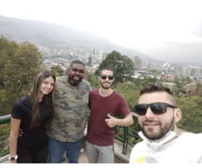 Great view of Medellin Colombia