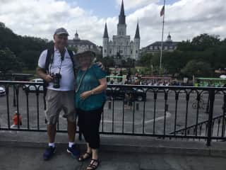 Allan and Allan, Jackson Square, New Orleans