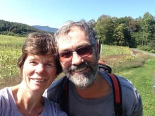 Meg and John