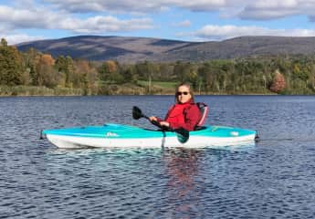 Kayaking in Southern Vermont