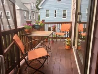 Small deck & screen porch