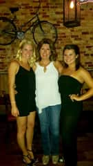 Me with my two daughters, all grown up. Visiting Traverse City, MI