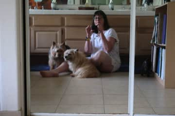 Me and my 2 dogs