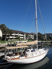Our Sailboat Home