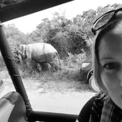 On safari in Sri Lanka