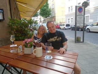 Tim and Brenda-Munich,Germany